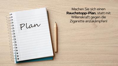 Rauchstopp-Plan